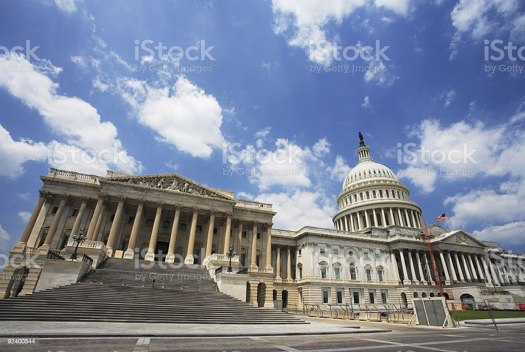 United States Capitol royalty-free stock photo