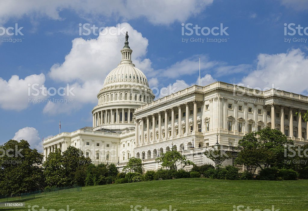 United States Capitol, Washington, D.C. USA stock photo