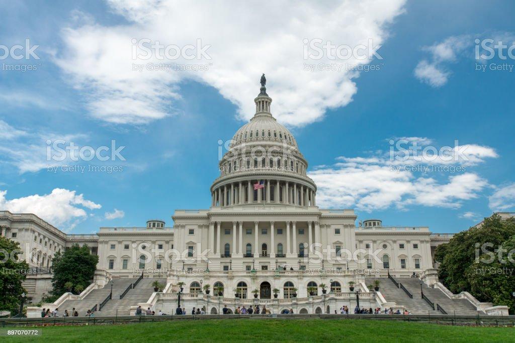 United States Capitol West in Washington, DC stock photo