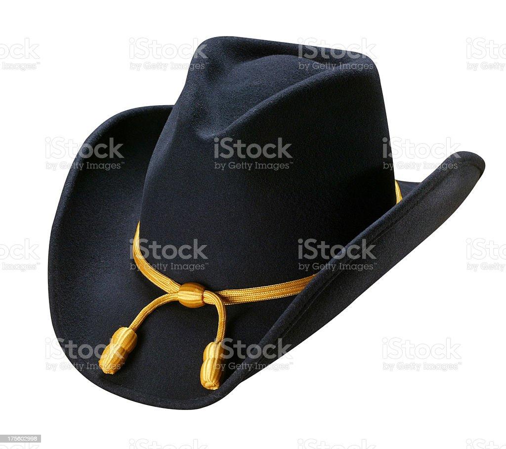 United States Cavalry Hat stock photo