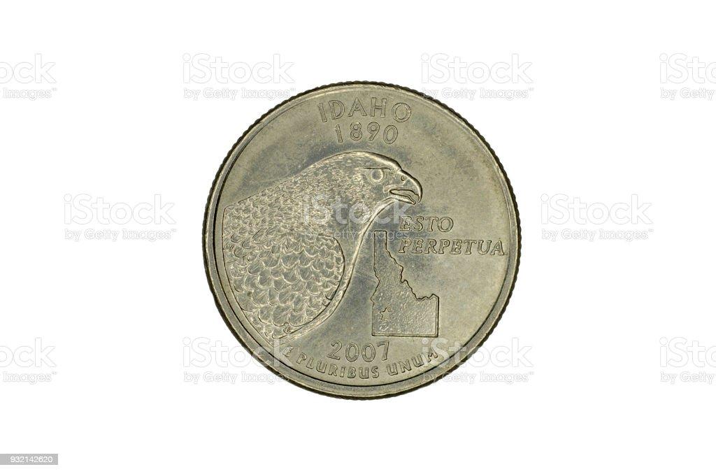 United States commemorative coin stock photo