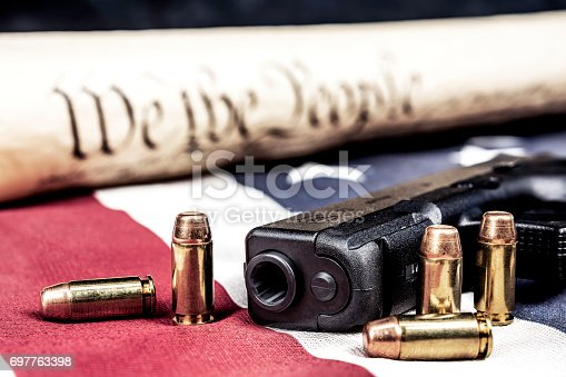 istock United States constitution and gun rights 697763398