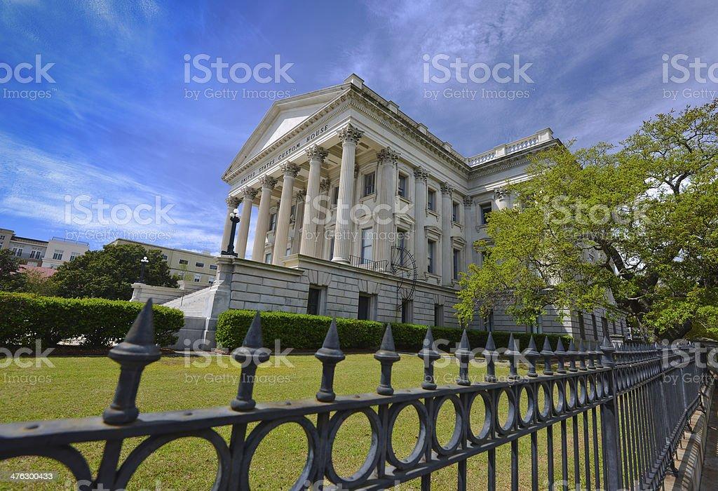 United States Custom House royalty-free stock photo