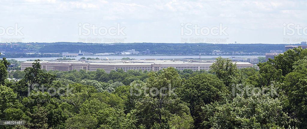United States Department of Defense Pentagon Building stock photo