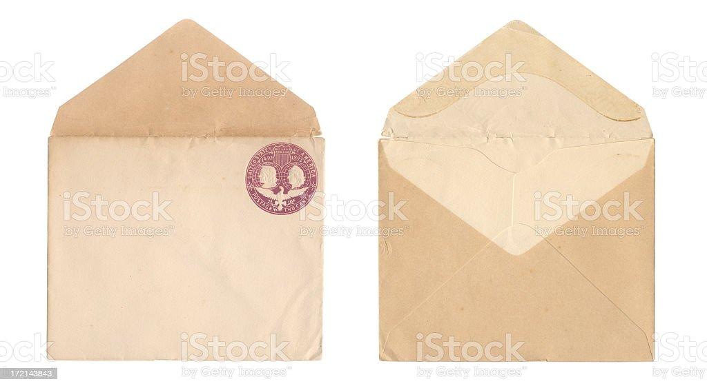 United states envelope stock photo