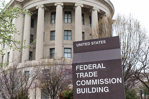 United States Federal Trade Commission Washington, DC, USA - March 25, 2016: United States Federal Trade Commission building in Washington, DC federal building stock pictures, royalty-free photos & images