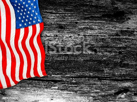 518726782 istock photo United States Flag, Memorial day 689055630