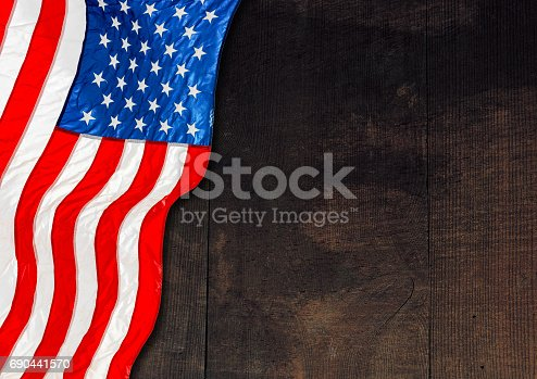 518726782 istock photo United States Flag, Memorial day 690441570