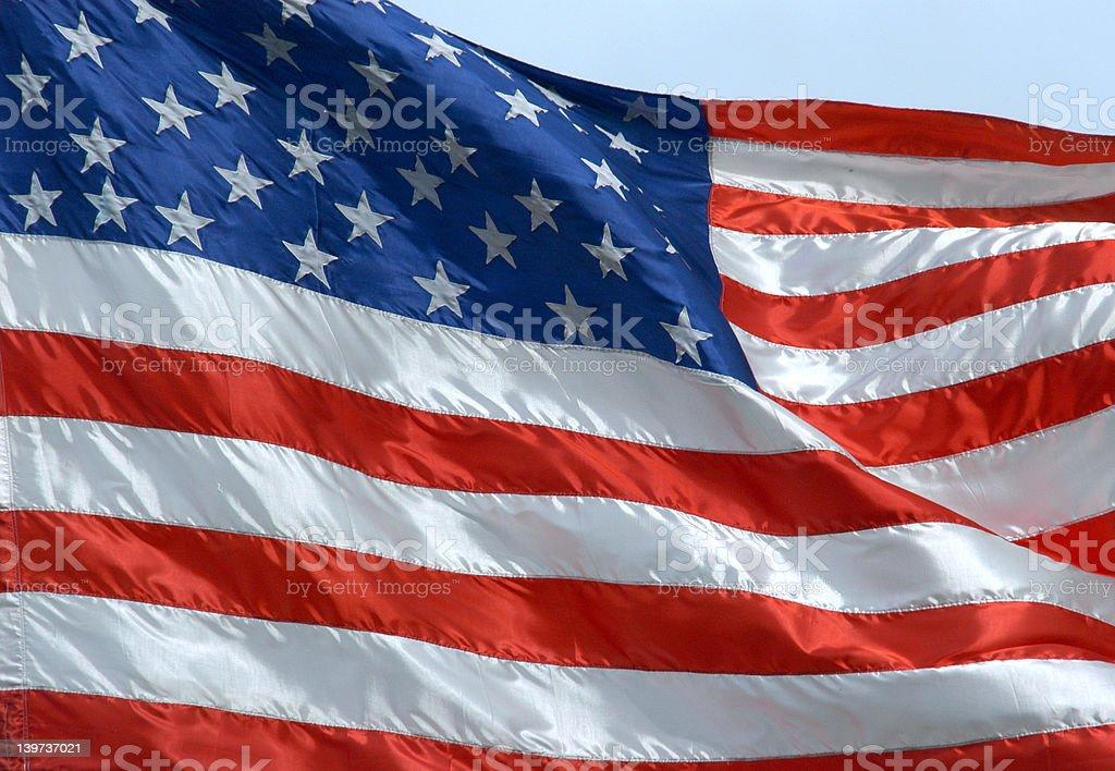 United States Flag royalty-free stock photo