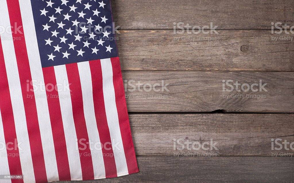 United States Flag stock photo