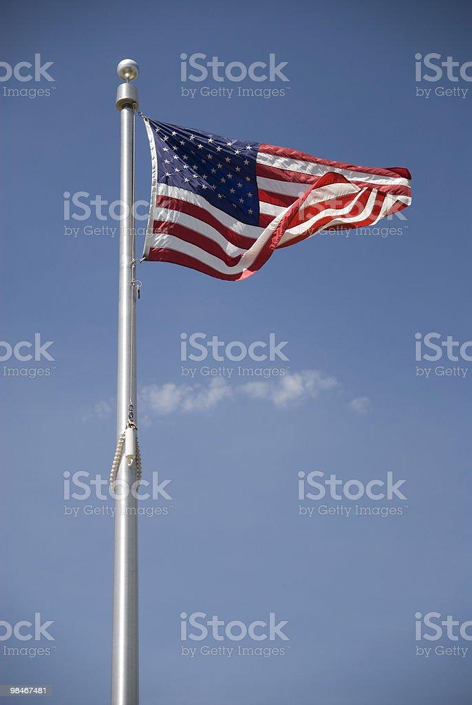 Bandiera degli Stati Uniti foto stock royalty-free