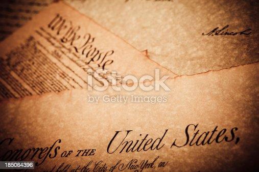 826166958 istock photo United States Historic documents 185064396