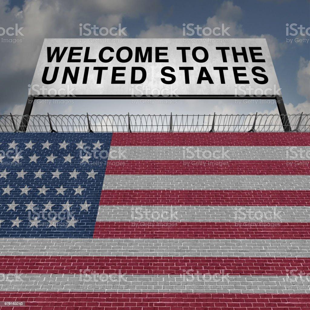 United States Immigration stock photo