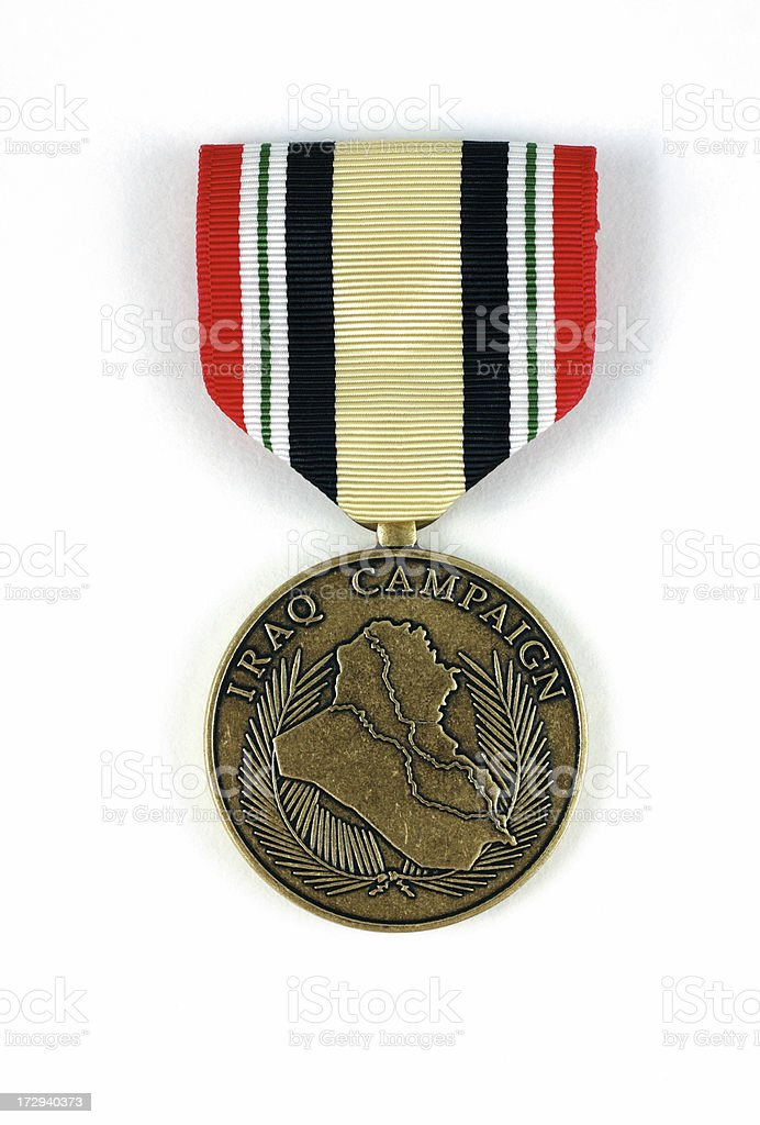 United States Iraq Campaign Medal stock photo