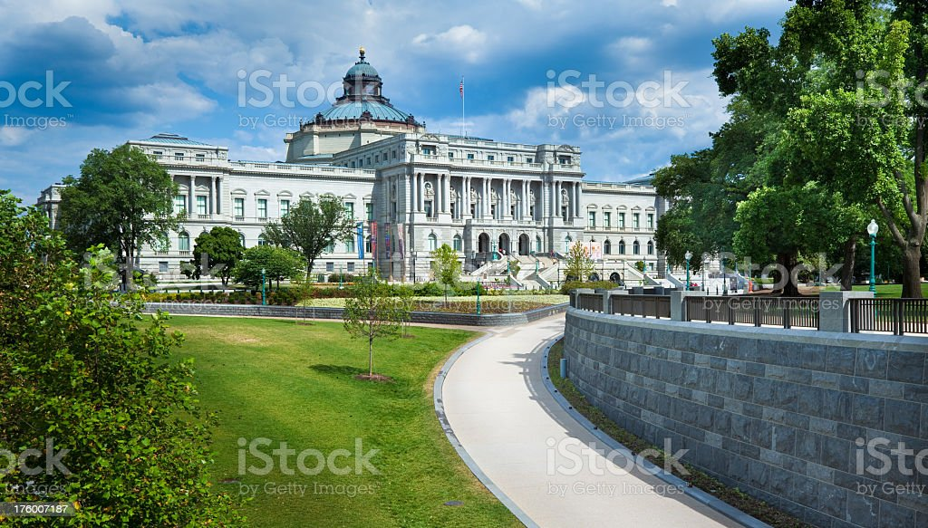 United States Library of Congress royalty-free stock photo