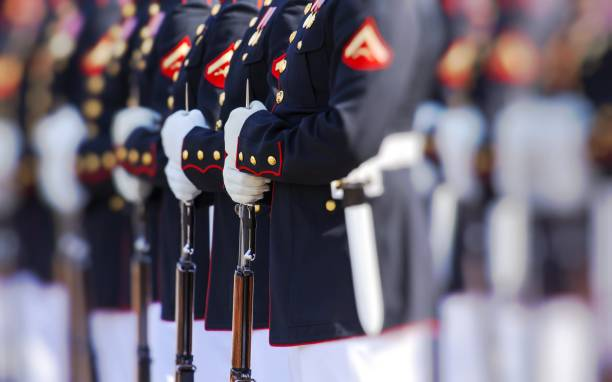 united states marine corps - armed forces stock photos and pictures