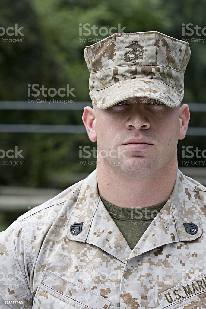 United States Marine royalty-free stock photo