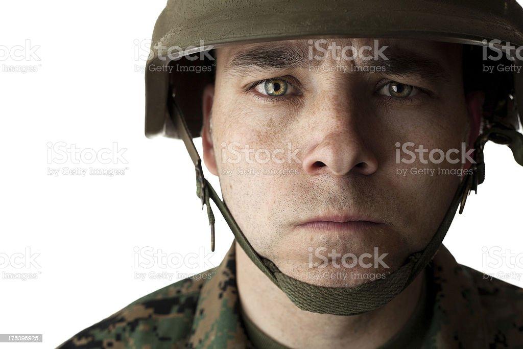 United States Marine royalty-free stock photo