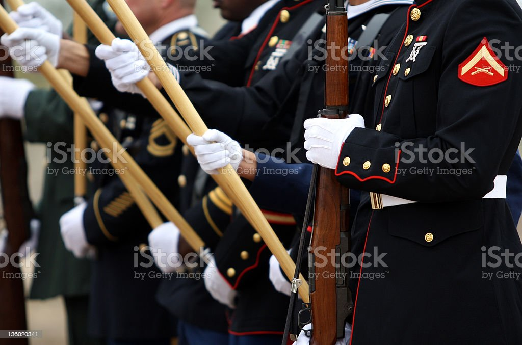 United States Military stock photo