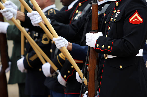 united states military - marines stock photos and pictures