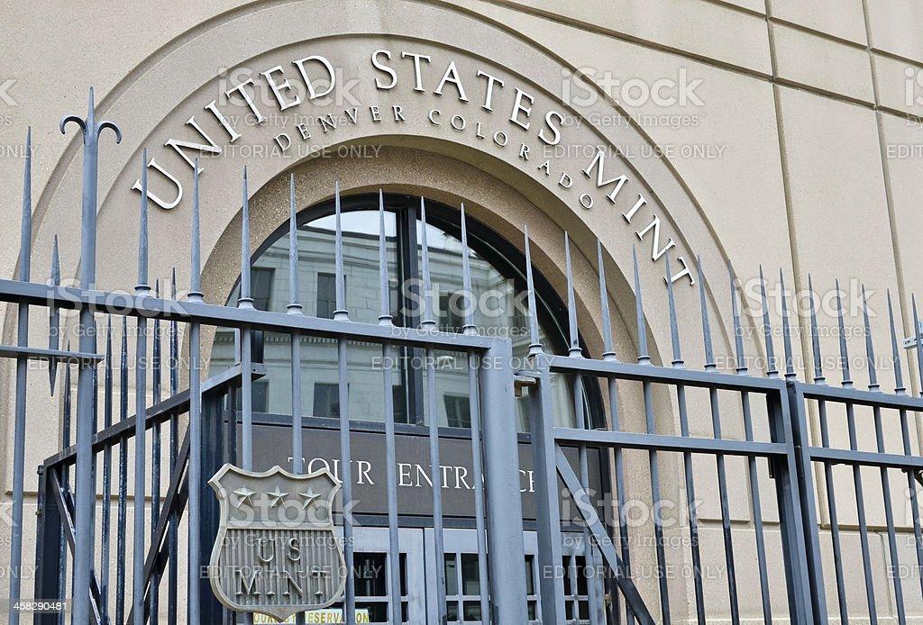 United States Mint, Denver stock photo