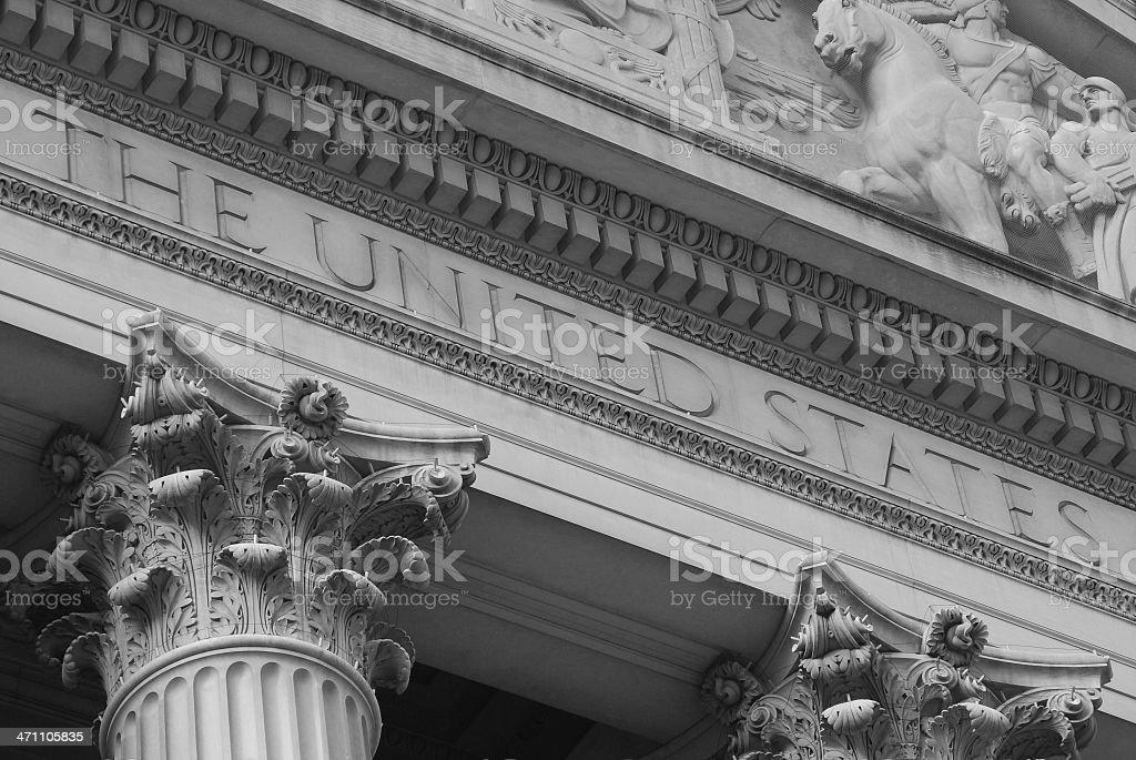 'United States', National Archives, Washington DC stock photo