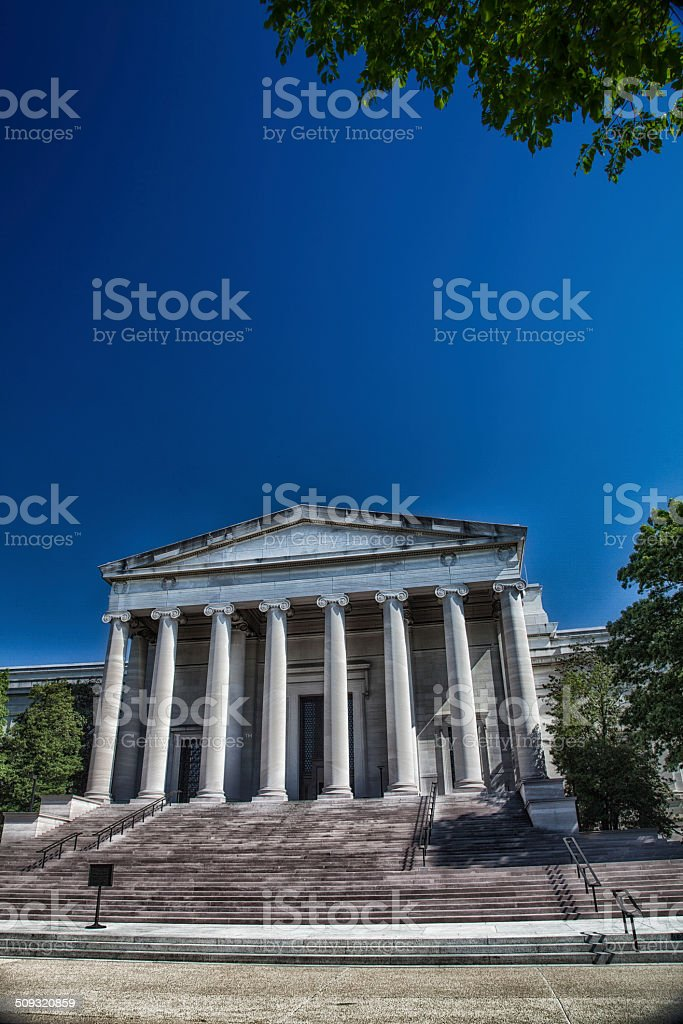 United States National Gallery of Art stock photo