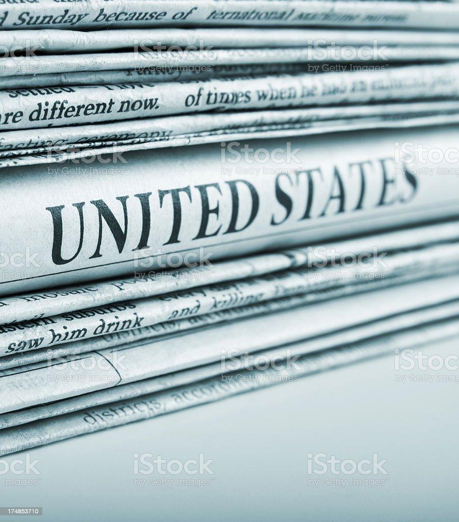 united states news royalty-free stock photo