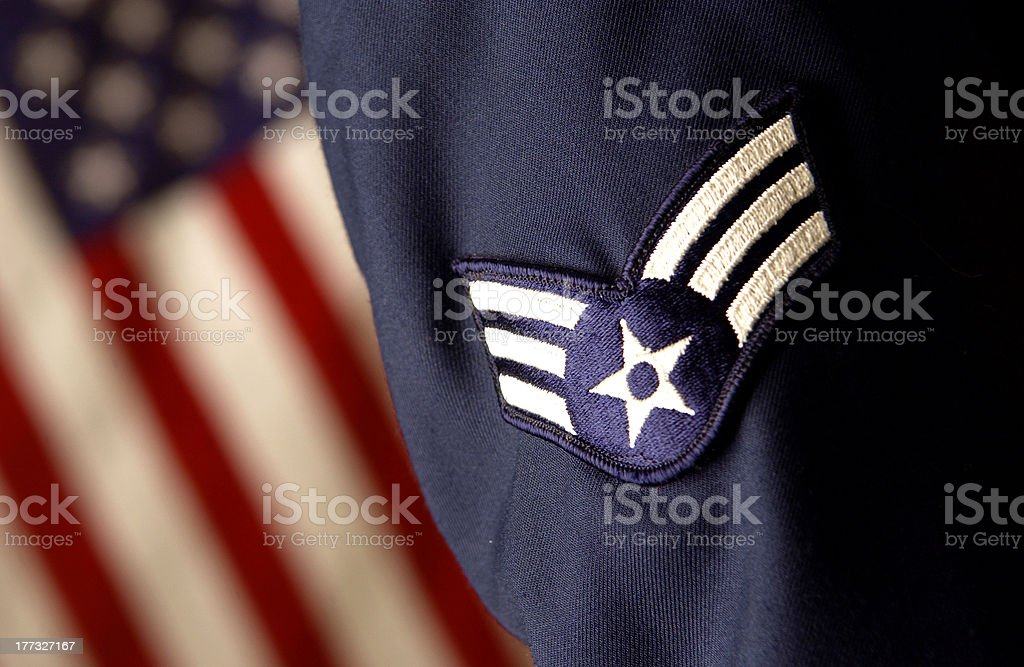 United States of America armed forces close up of armed forces uniform Adult Stock Photo