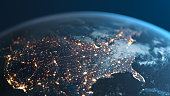 istock United States Of America At Night - Planet Earth Seen From Space 1214224199