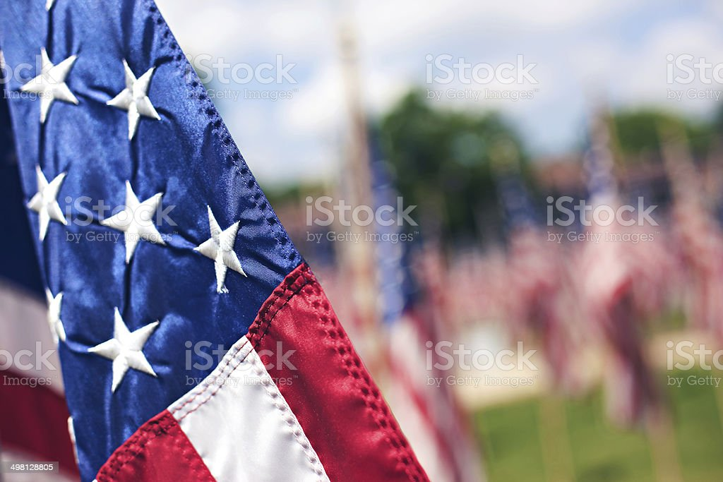 United States of America flag liberty holiday stock photo