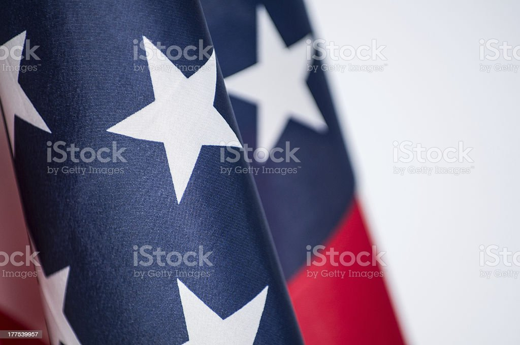 United States of America flag royalty-free stock photo