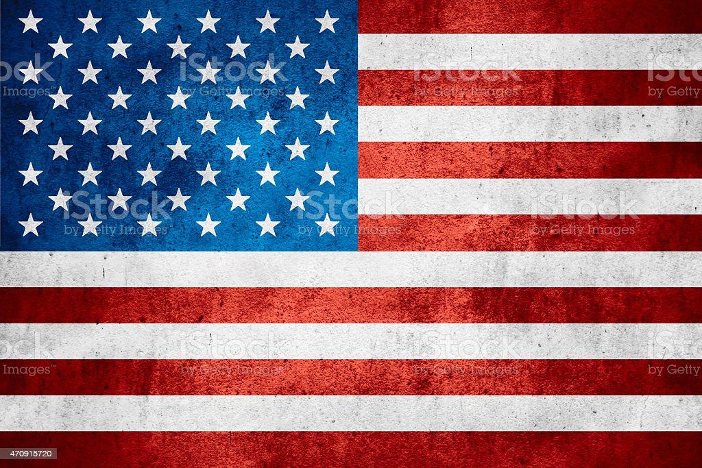 Vereinigte Staaten von Amerika-Flagge – Foto