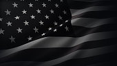 istock 4K United States of America flag waving in the wind with highly detailed fabric texture 1292668082