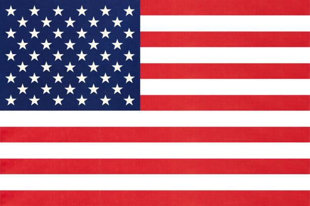 美國國家織物標誌紡織背景。國際世界美洲國家的象徵。 - american flag 個照片及圖片檔
