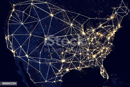 989624498istockphoto USA United States of America network 666863264