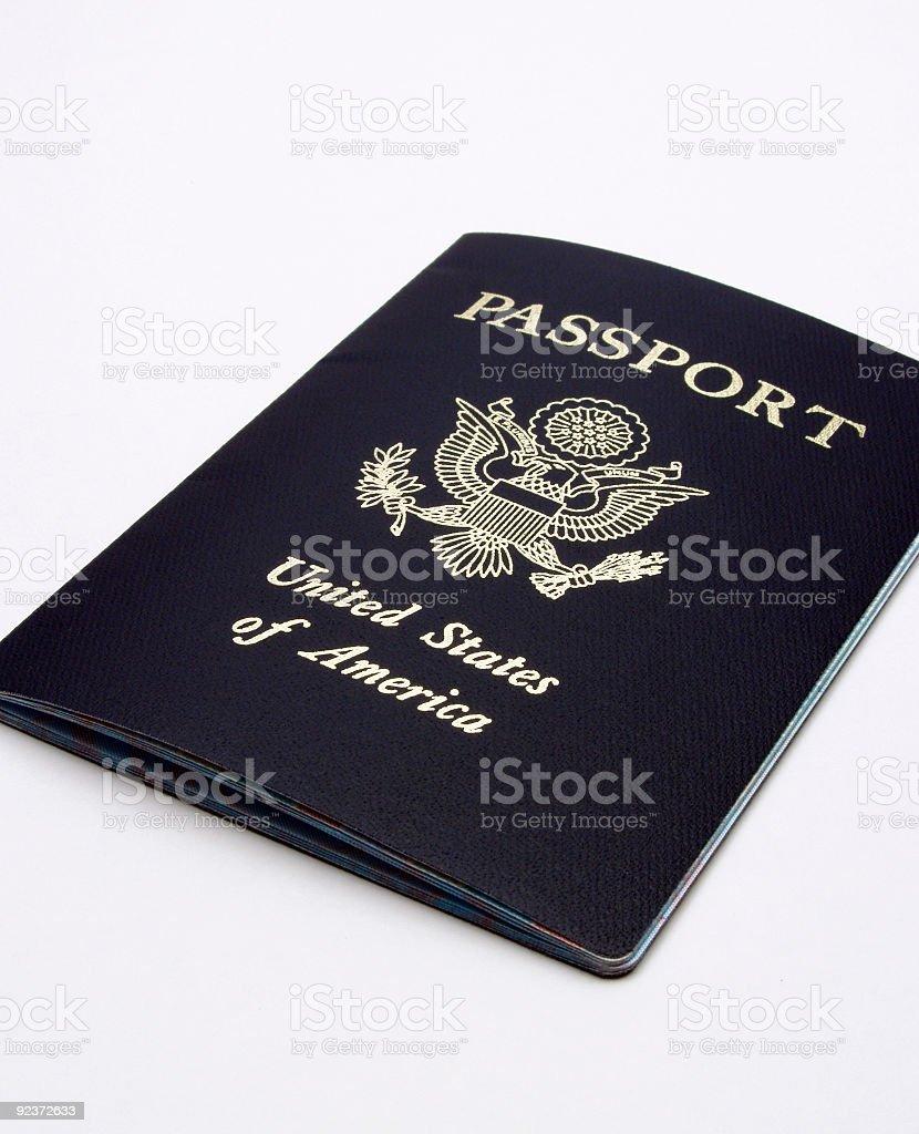 United States of America (USA) Passport royalty-free stock photo