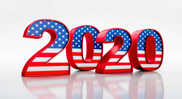 2020 United States of America Presidential Election stock photo