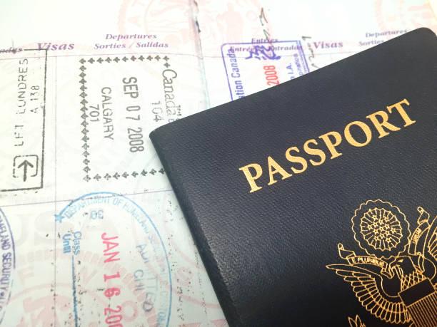 Passeport des États-Unis - Photo