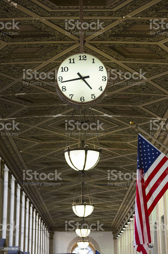 United States Post Office, New York stock photo