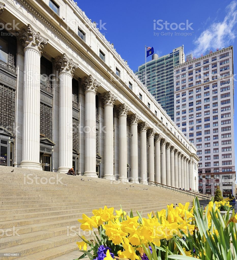 United States Post Office stock photo