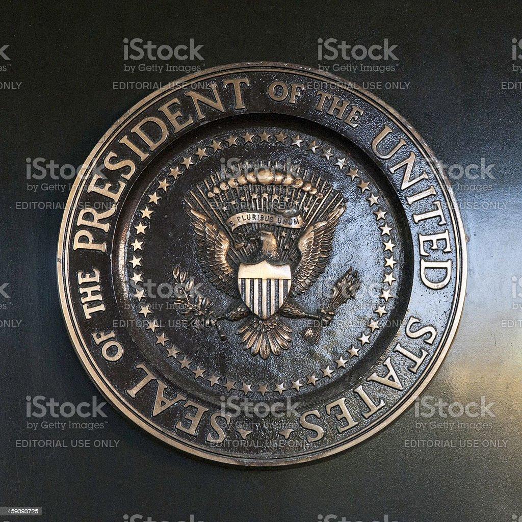 United States President Seal stock photo