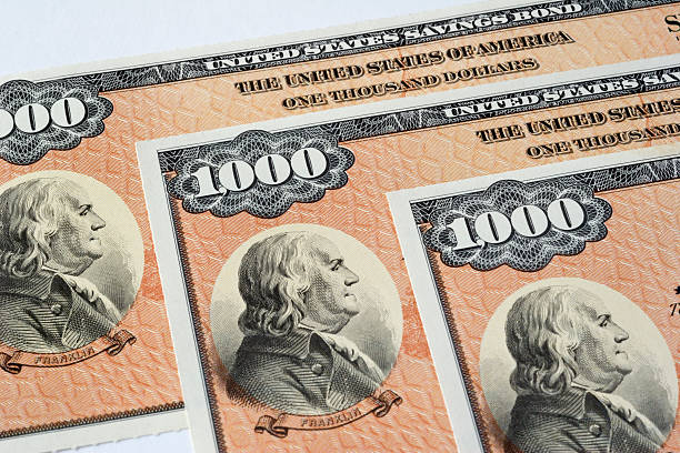 Ahorros obligaciones de Estados Unidos - foto de stock