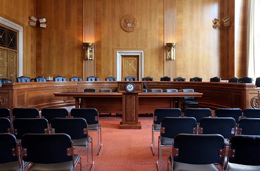 アメリカ合衆国上院委員会公聴会の部屋 - アメリカ合衆国のストック ...