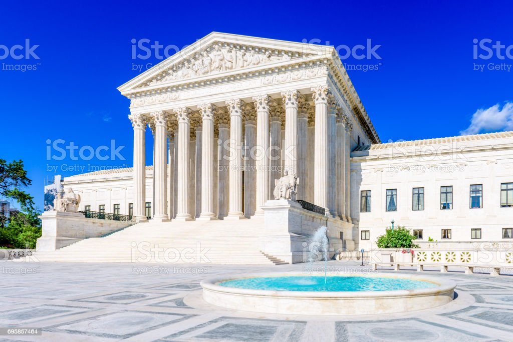 United States Supreme Cour stock photo