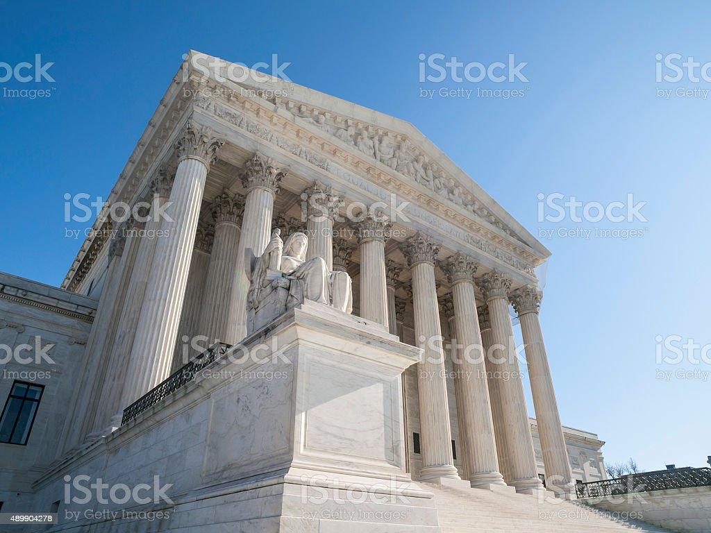 Budynek Sądu Najwyższego Stanów Zjednoczonych fasada – zdjęcie