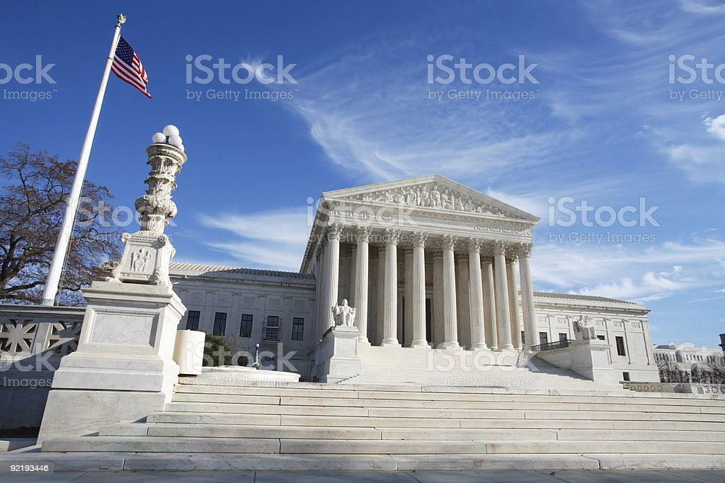 United States Supreme Court Building royalty-free stock photo