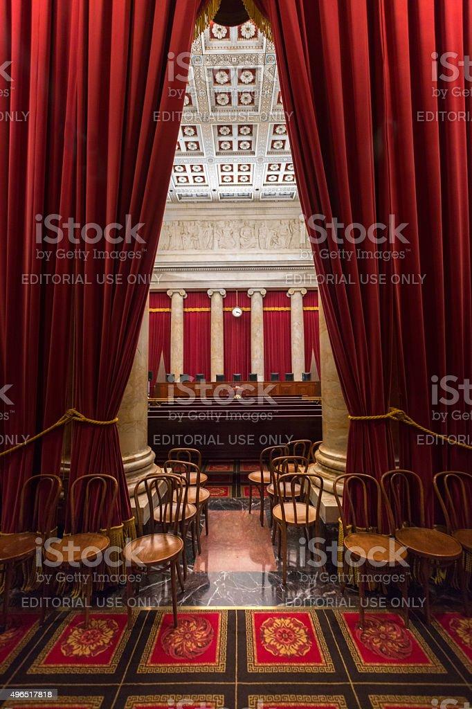 Izby Sądu Najwyższego Stanów Zjednoczonych w Waszyngtonie, D.C. – zdjęcie