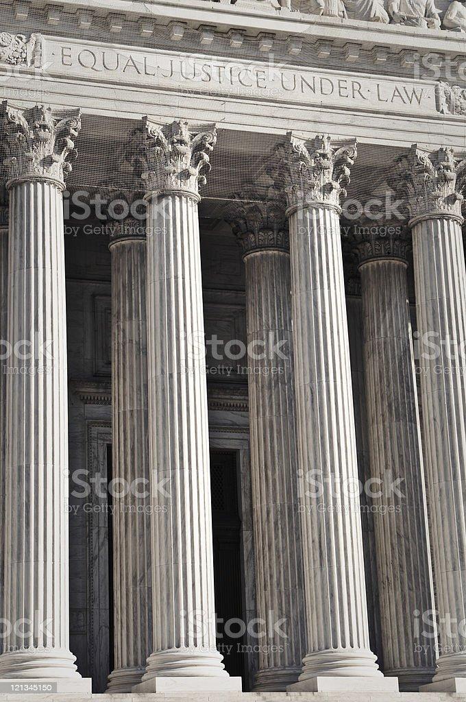 Wejście do Sądu Najwyższego Stanów Zjednoczonych – zdjęcie