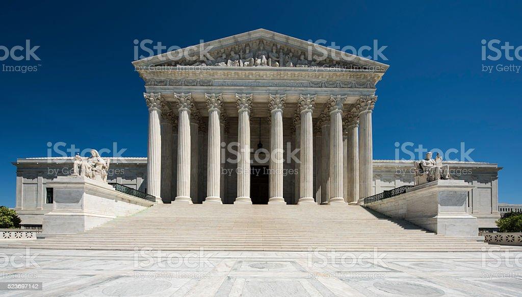 Sąd Najwyższy Stanów Zjednoczonych pełny widok nikt nie – zdjęcie